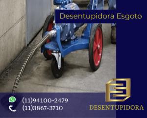 Desentupidora de Esgoto em São Bernardo